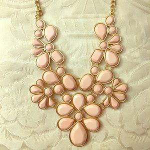 "Pink & Gold ""One of a Kind"" Masterpiece Necklace"